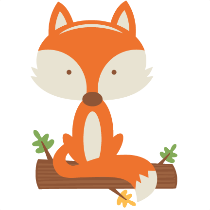 woodland clipart fox