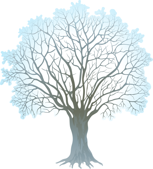 winter clipart tree