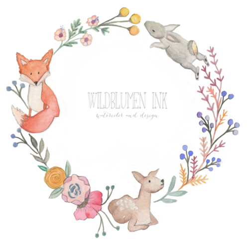 woodland clipart wreath