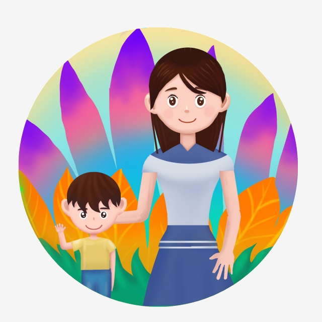 World clipart mother.