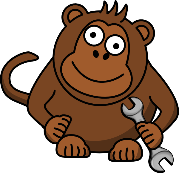 wrench clipart monkey wrench