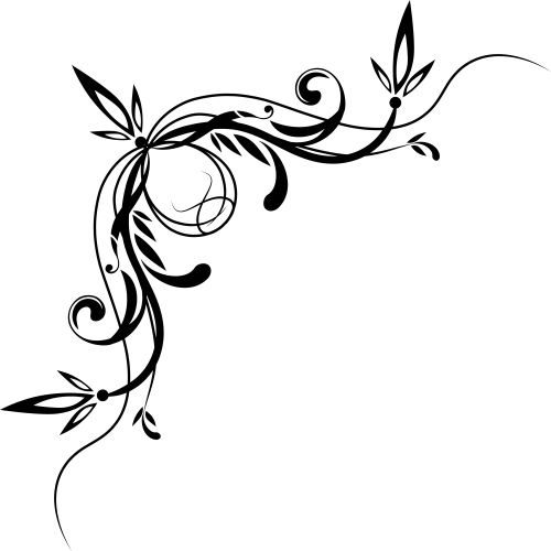 Line clipart decorative.