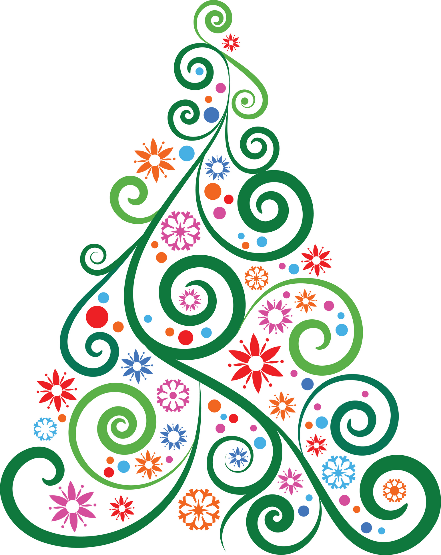 holiday clipart modern