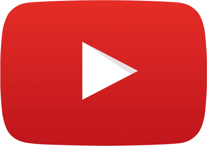 Youtube like clipart logo.