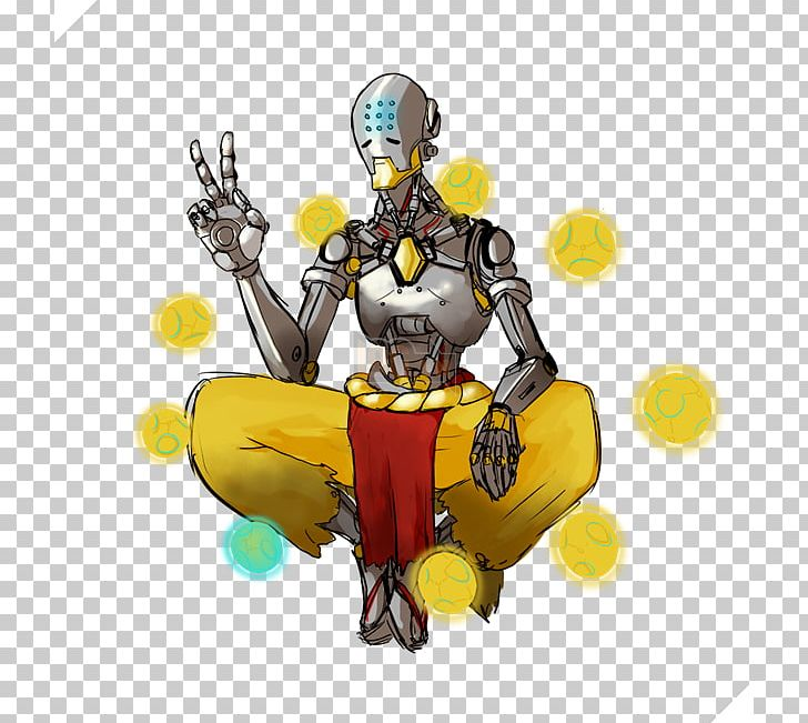 zenyatta clipart drawing
