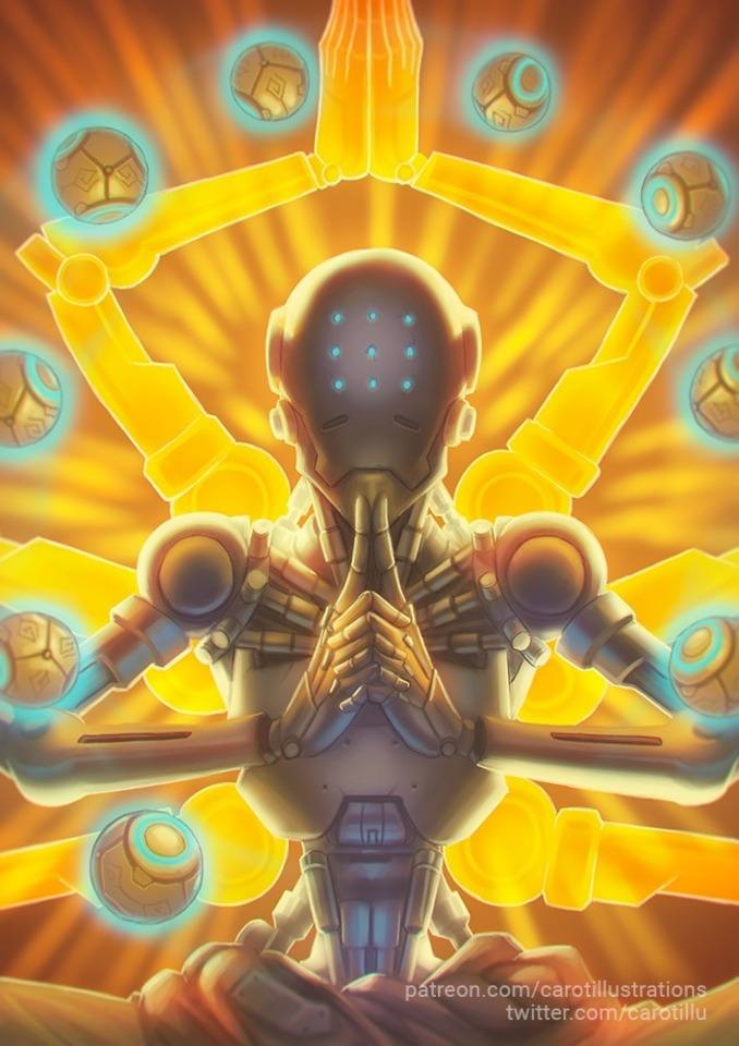zenyatta clipart screen shot