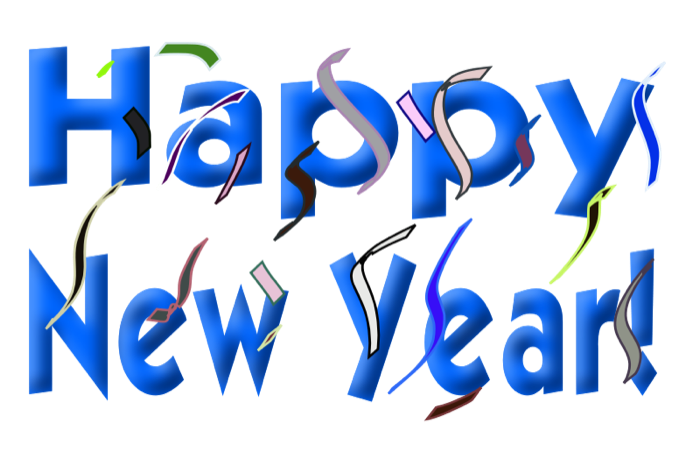 new year clipart animated
