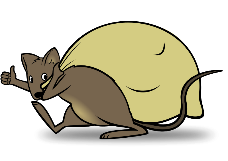 armadillo clipart cartoon