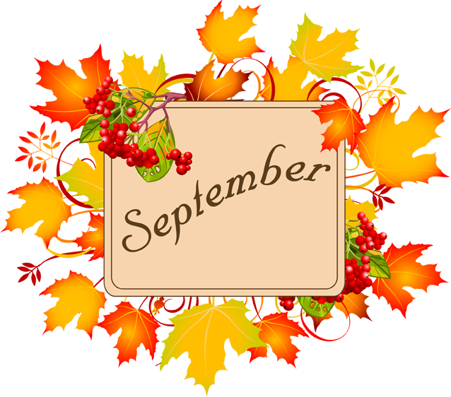 september cliparts