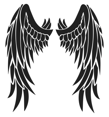 wing clipart feather wing