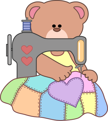 quilter clipart sewing