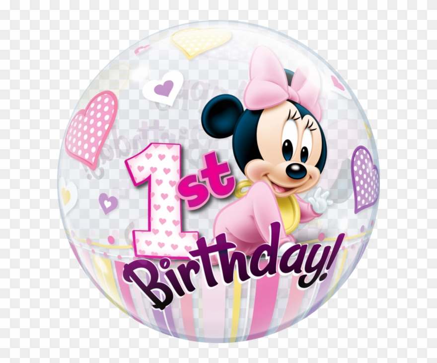 minnie mouse clipart 1st birthday
