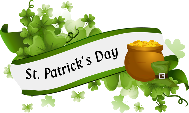 free st patrick day clipart happy