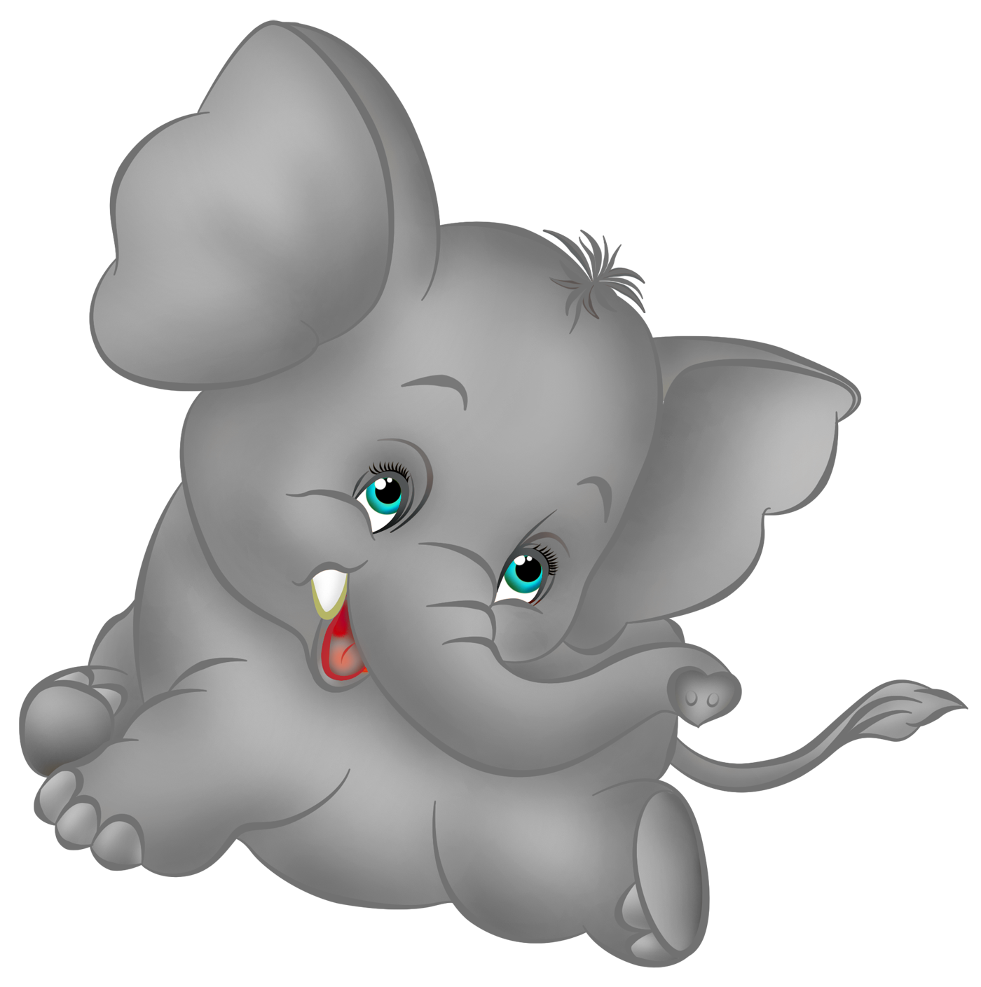 water clipart baby elephant
