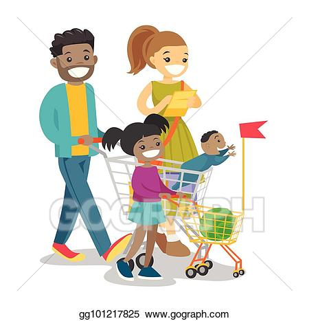 shopping clipart child