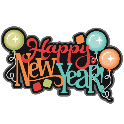 happy new year clipart cute