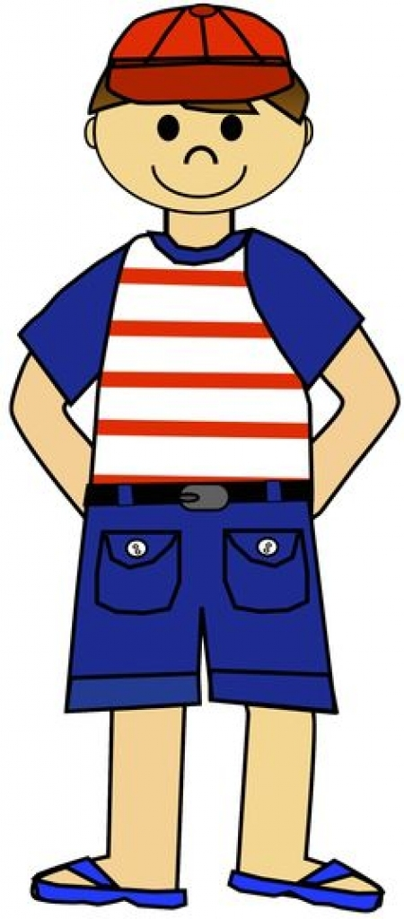 clothes clipart boy