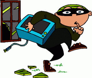 Burglar clipart employee theft.
