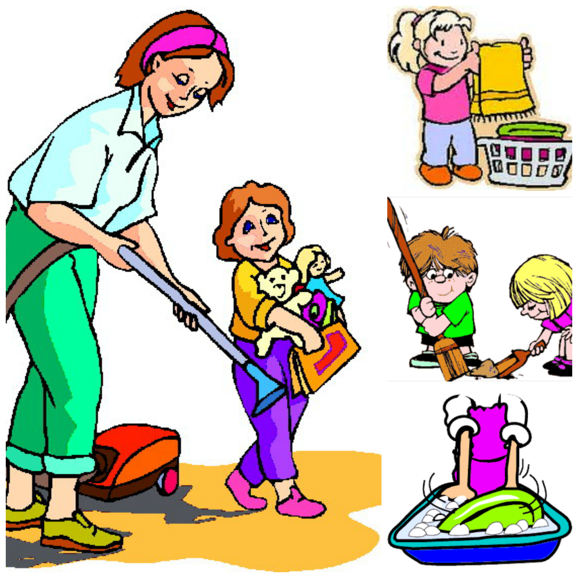 clipart home kids