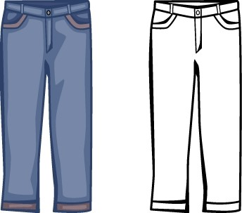 clothes clipart pants