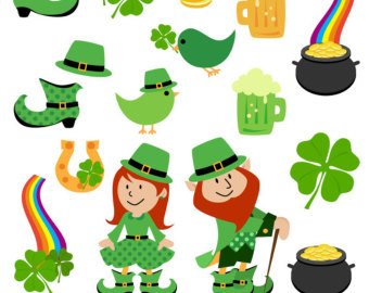 free st patrick day clipart vector image