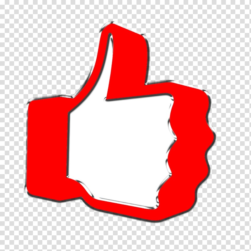 youtube like button clipart overlay