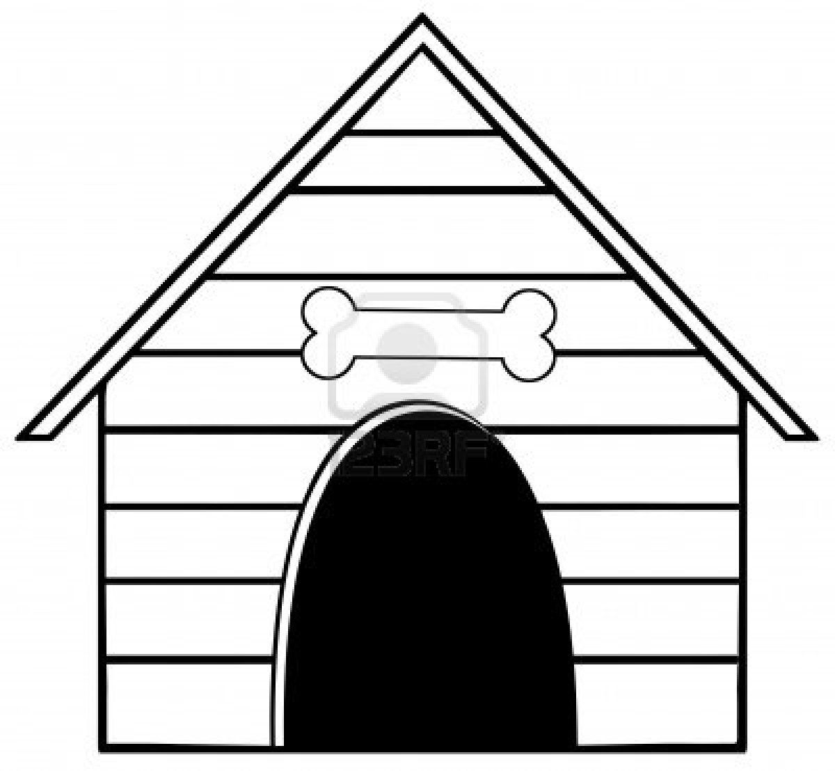 doghouse clipart white