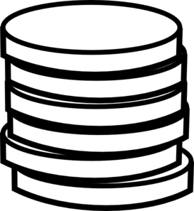 coin clipart color
