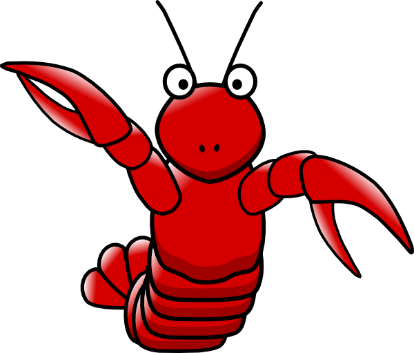 lobster clipart animated