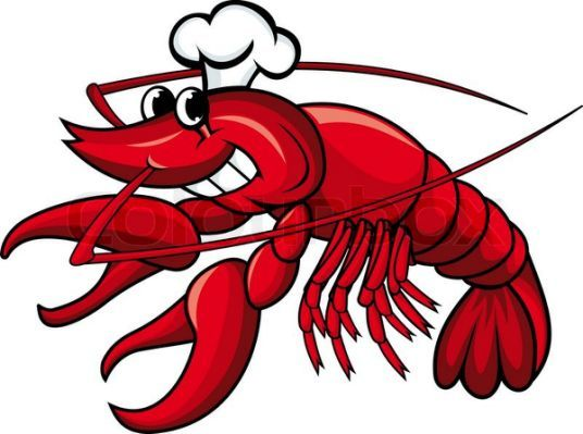 lobster clipart chef