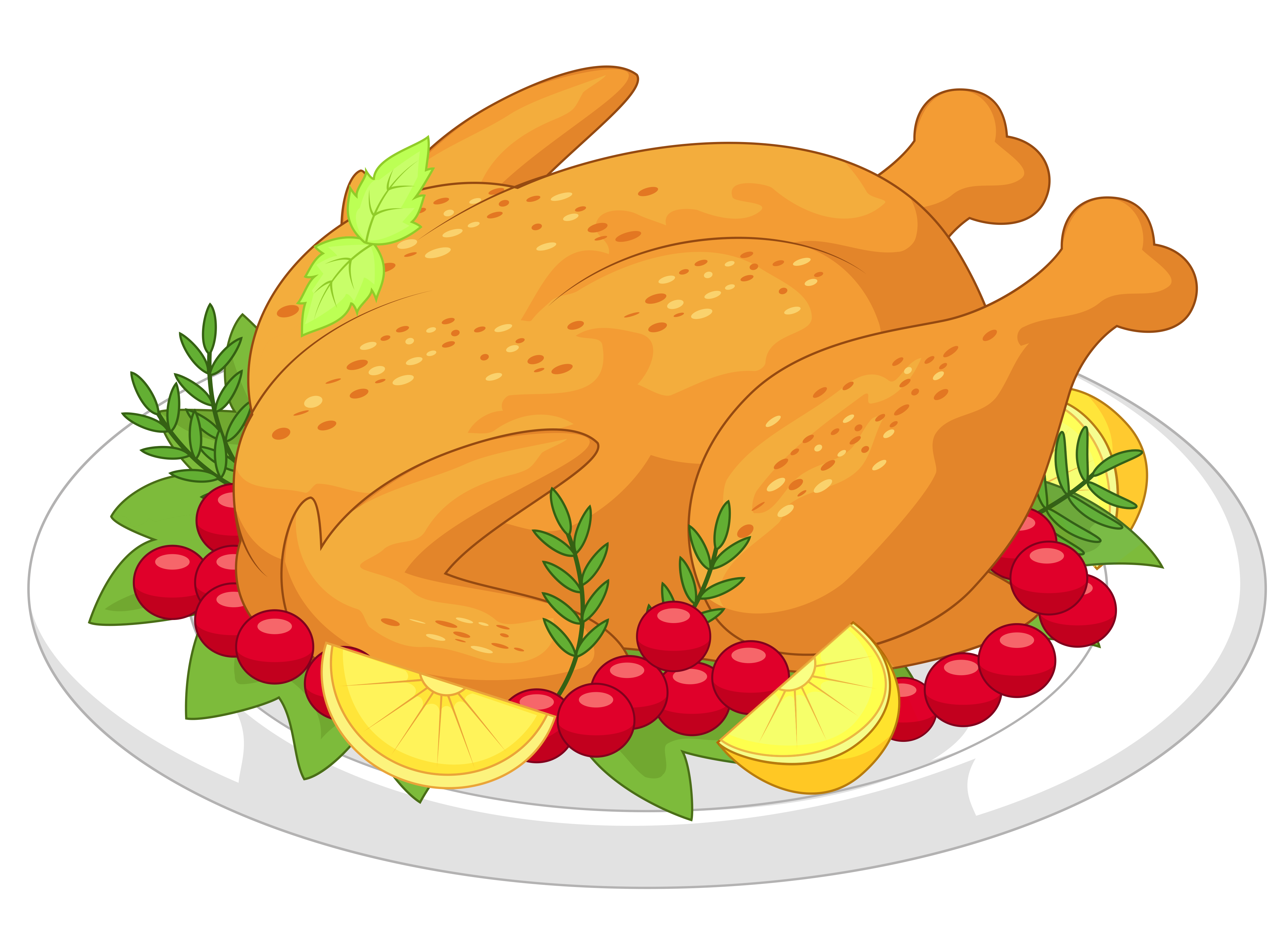 clipart turkey cooked