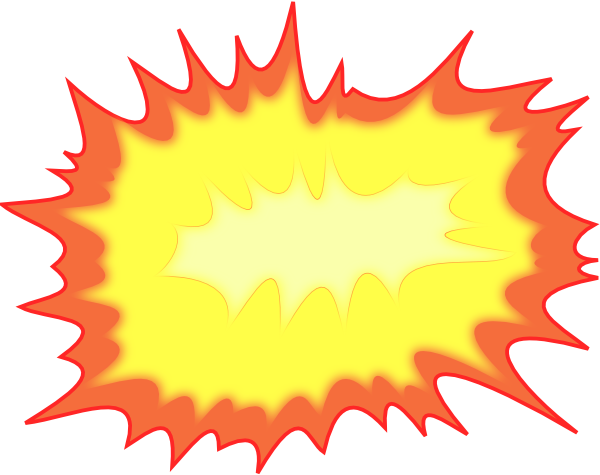Explosion clipart bombing.