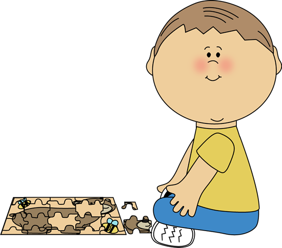 puzzles clipart playing
