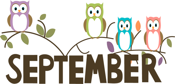 september cliparts word