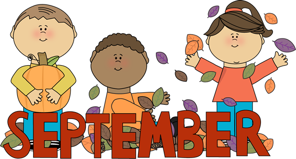 september cliparts month