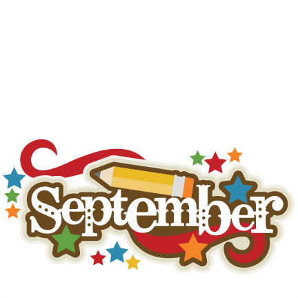 september cliparts cute