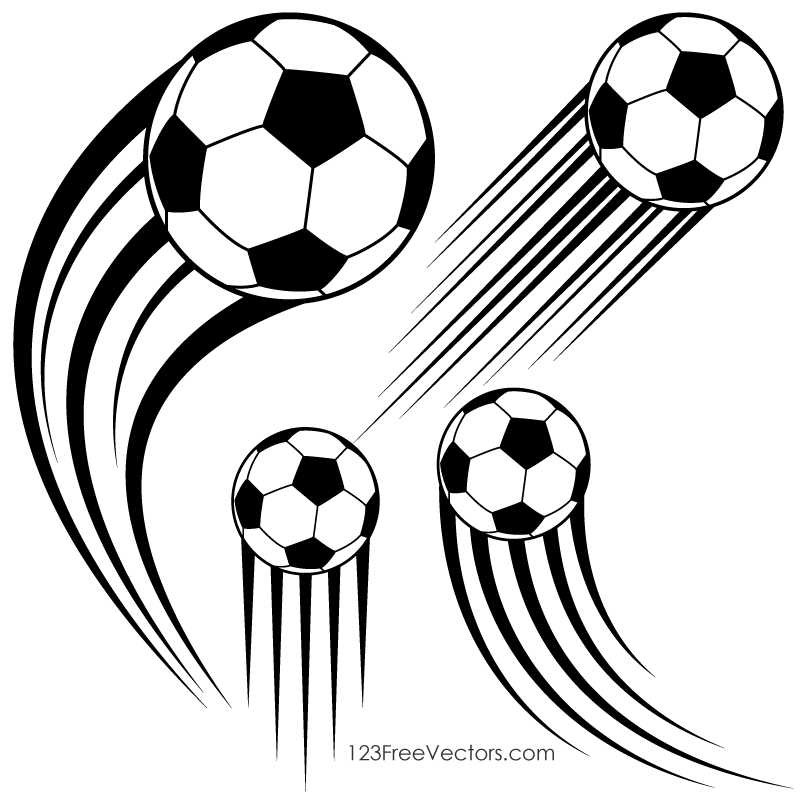 action lines clipart ball