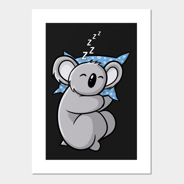 koala clipart sleeping