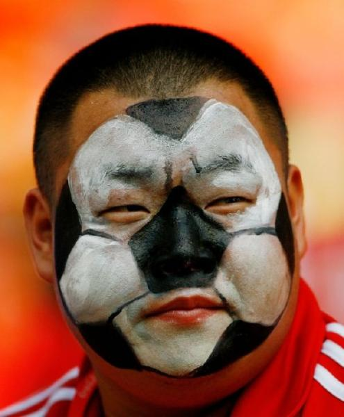 face painting clipart sports