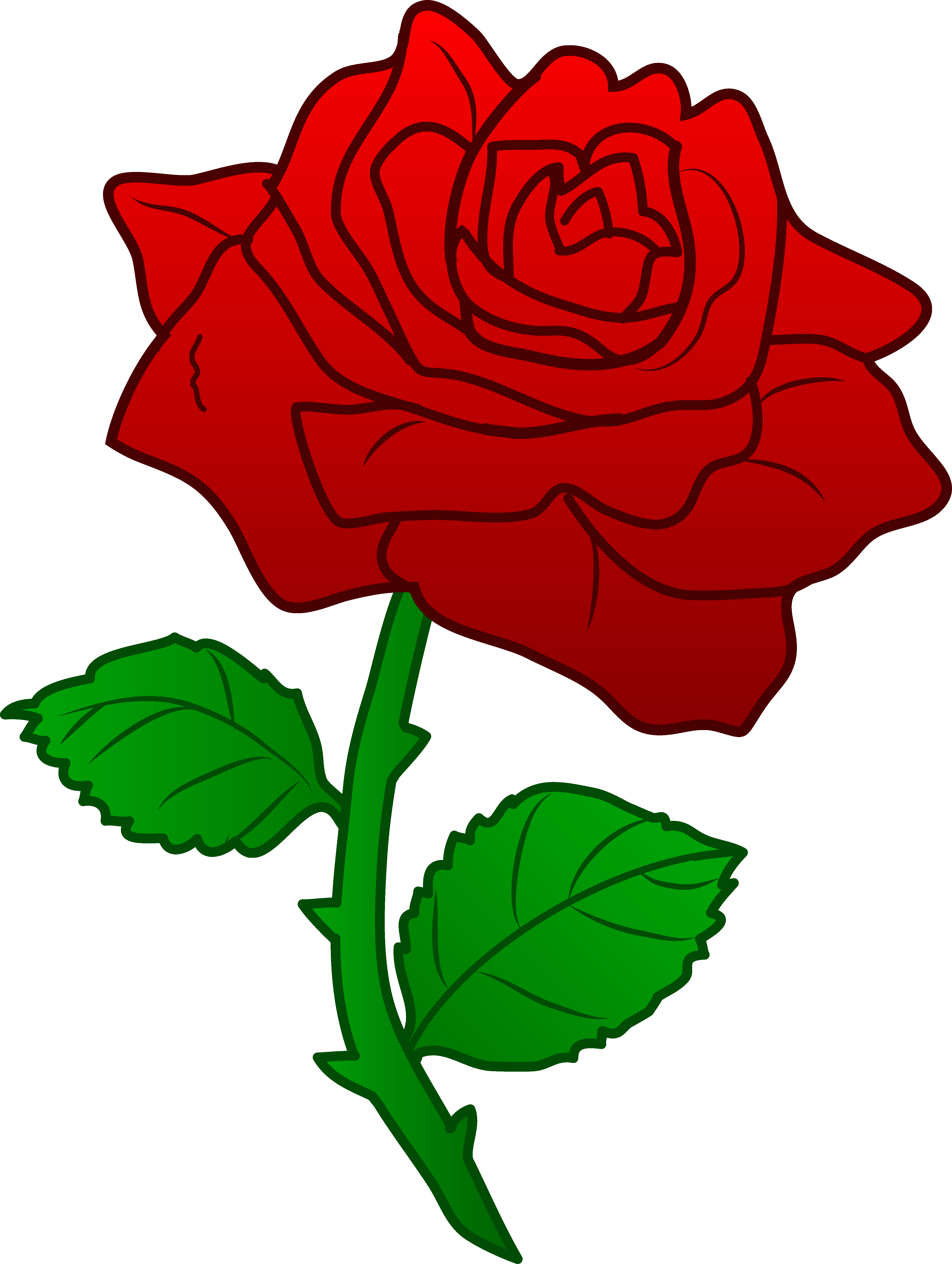 clipart images rose