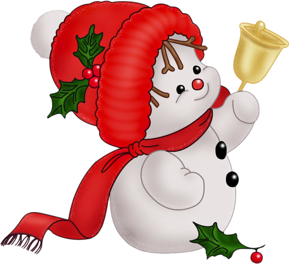 new years clipart free snowman