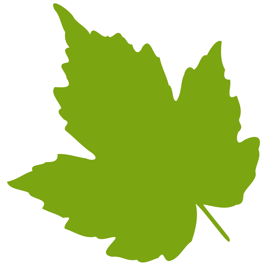 falling leaves clipart green