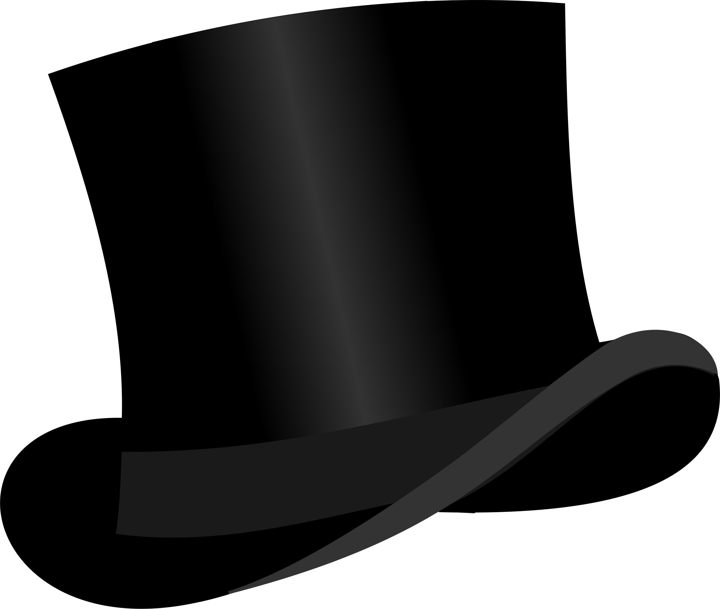 top hat clipart white