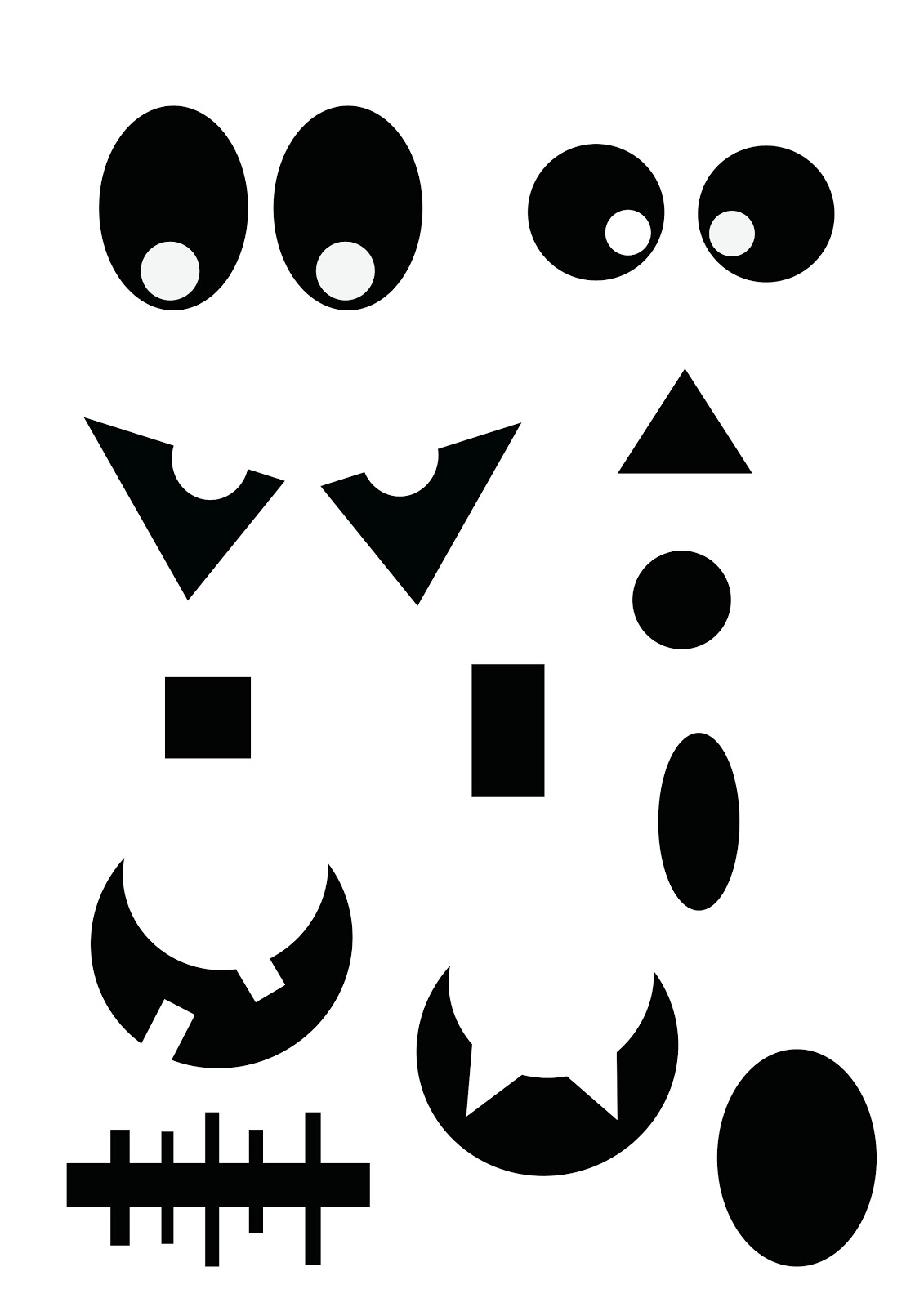 face painting clipart printable