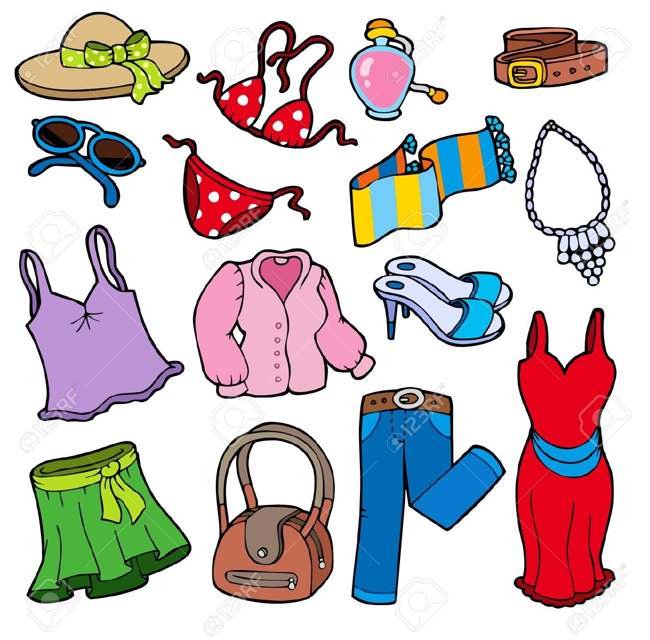 clothes clipart spring