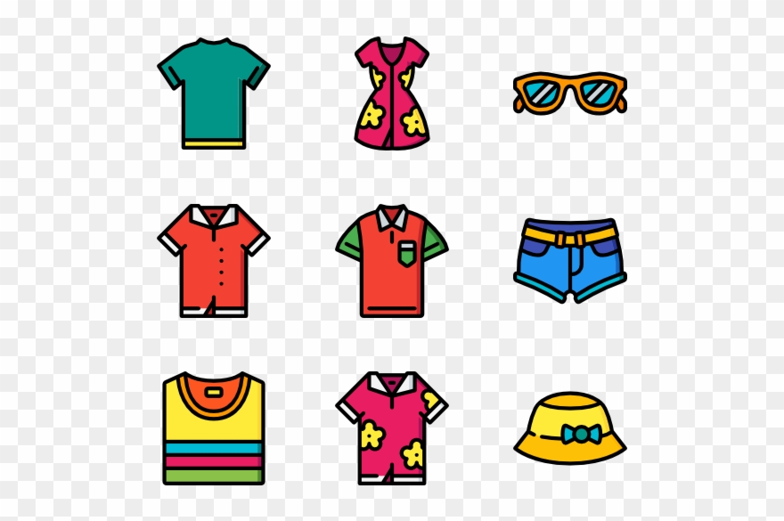 clothes clipart summer season