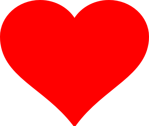 red heart clipart love