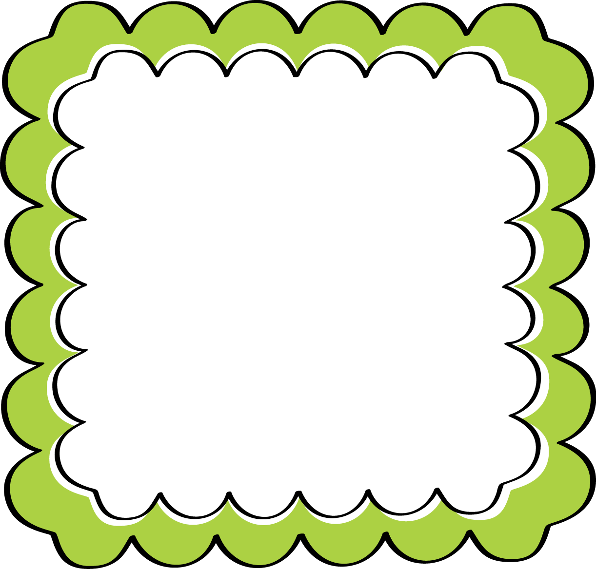 free borders clipart frame