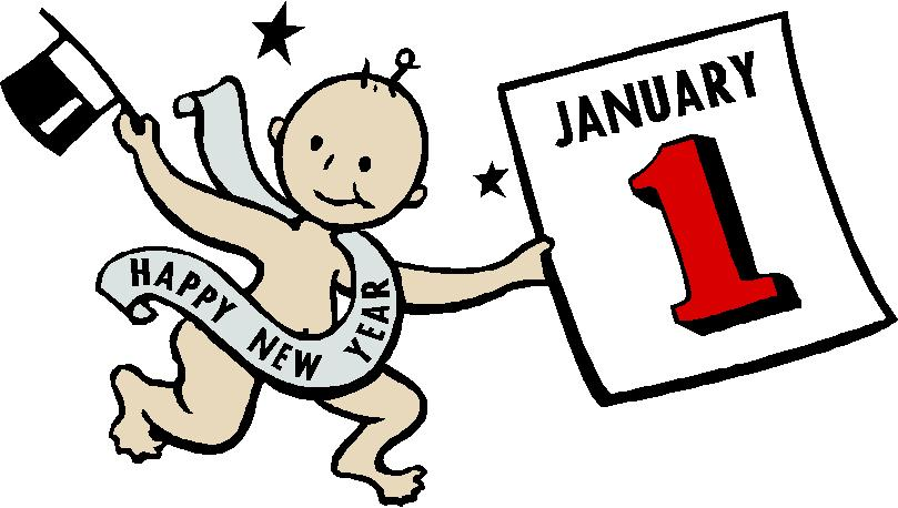 new years clipart free baby