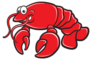 lobster clipart printable